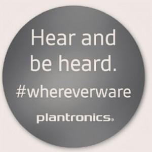 Hear and be heard
