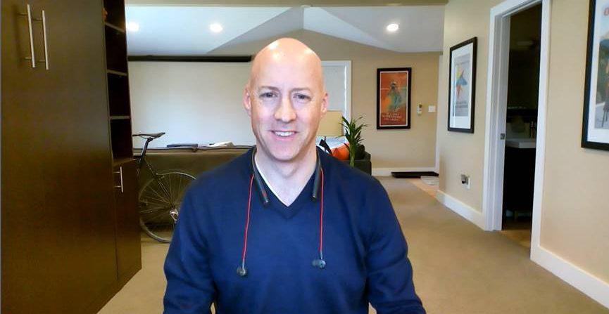 Chris thorson how to set up home office poly blog webcam