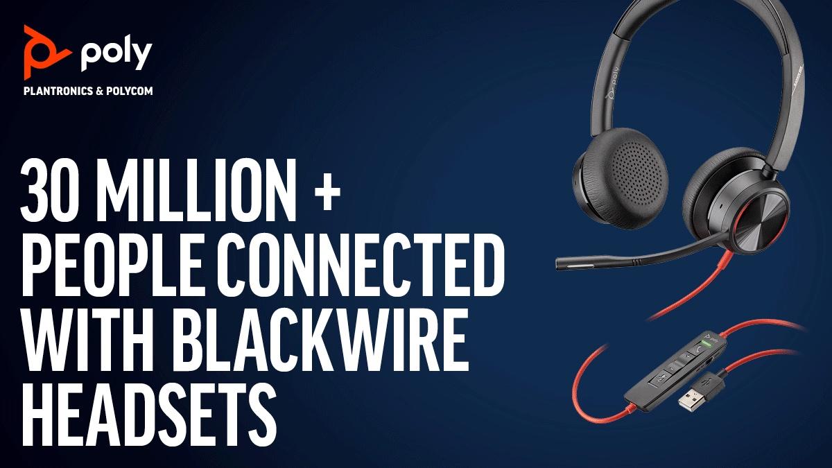 Celebrating 30 Million Units of Blackwire Headsets